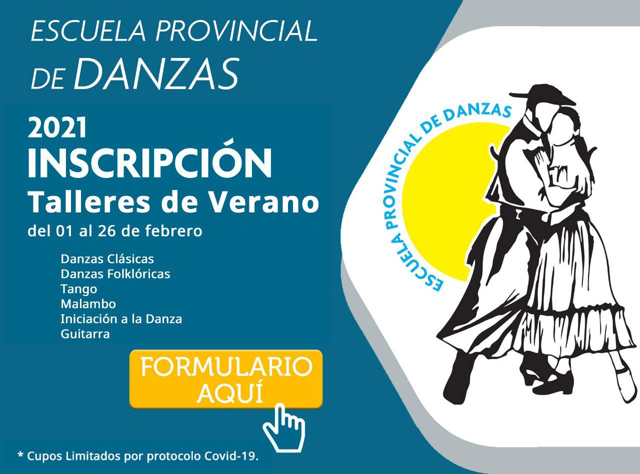 Escuela de Danzas - Inscripcion 2021