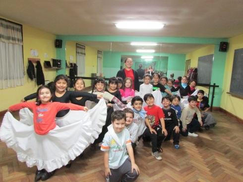 La Escuela Provincial de Danzas inició el Ciclo Lectivo 2016 con más de setecientos inscriptos